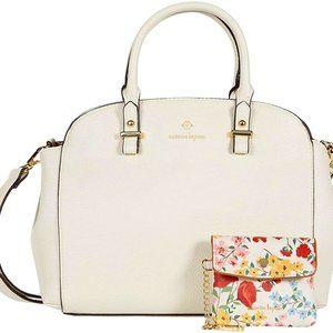 Nanette Lepore Kayli Rice Satchel Bag w/Pouch